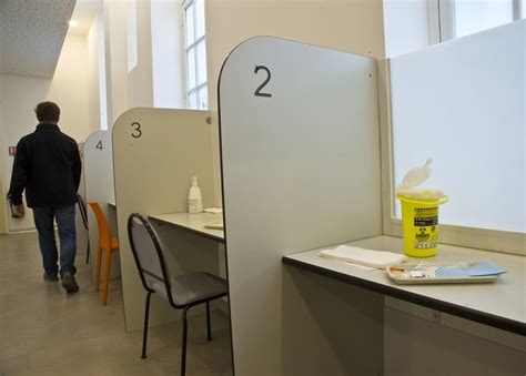 cocaine room launches its safe injection room for addicts the atlantic