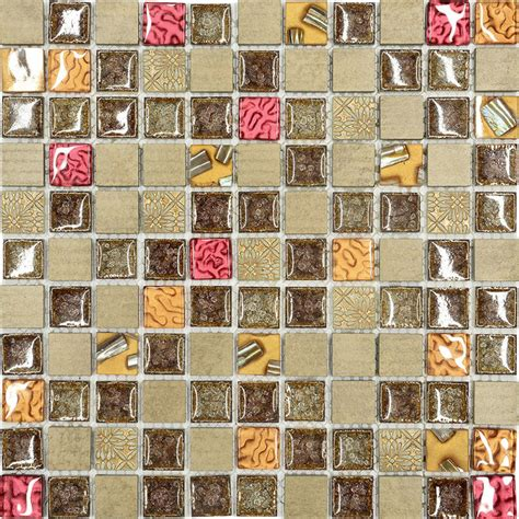 gold glass tile backsplash burgundy brown gold glass mosaic kitchen backsplash tile