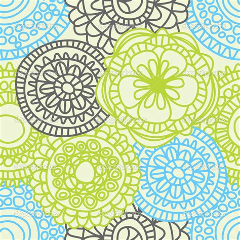 seamless pattern flower september 2014 samlaubach