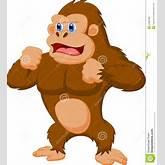Gorilla Cartoon Royalty Free Stock Photos - Image: 33992498