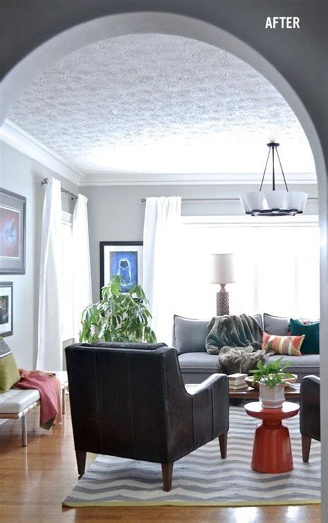 Front Room Ceiling Lights Living Room Or Front Room Of House Big Bright Windows High Curtains Great Ceiling Light