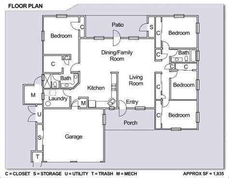 free single family home floor plans best of free single family home floor plans new home plans design
