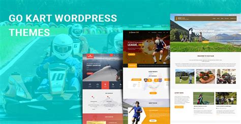 theme wordpress karting go kart wordpress themes for racing karting and sports