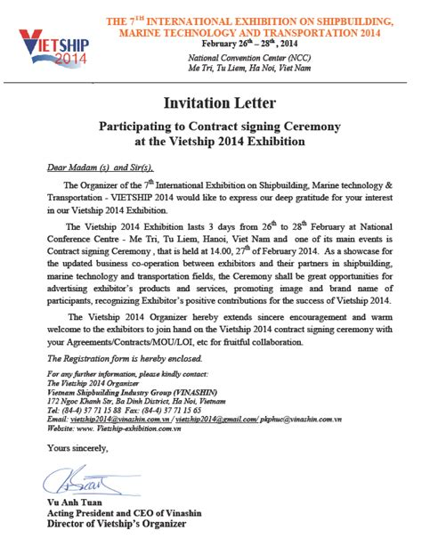 invitation letter for international exhibition images invitation sle and invitation design