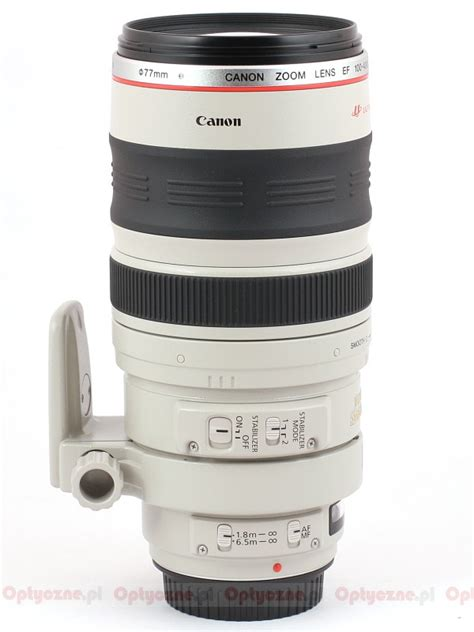Ef 100 400 F 4 5 5 6 L Is Usm canon ef 100 400 mm f 4 5 5 6 l is usm optyczne pl