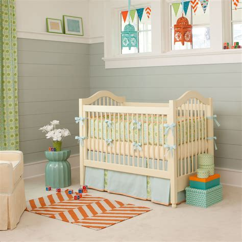 Design Crib by Giveaway Carousel Designs Crib Bedding Set