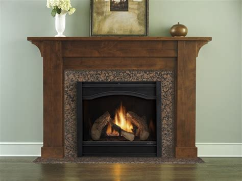Heat And Glow Fireplaces by Heat Glow 6000c Medium Gas Fireplace Direct Vent
