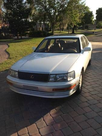 auto body repair training 1990 lexus ls electronic toll collection sell used 1990 lexus ls400 base sedan 4 door 4 0l low mileage and extra parts in windermere