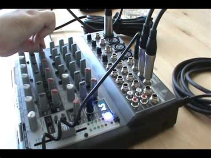 Mixer Xenyx 1202fx behringer xenyx 1202fx mixer demo part 2 2