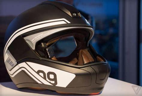 Motorradhelm Mit Head Up Display by Bmw Zeigt Motorrad Helm Mit Head Up Display