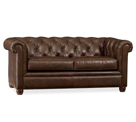 pottery barn chesterfield leather sofa pottery barn 20 off sale april 2nd and 3rd only save on