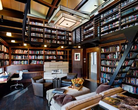 modern home library interior design 20 library interior designs ideas design trends