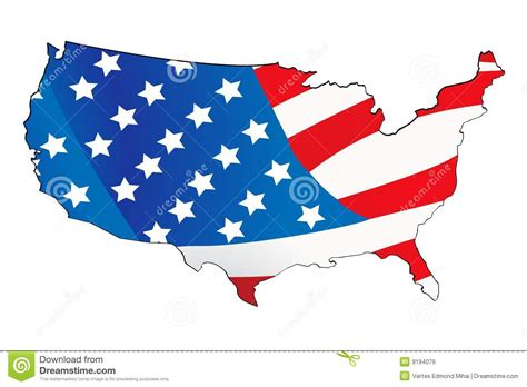 of usa usa map with map background stock vector image 9194079