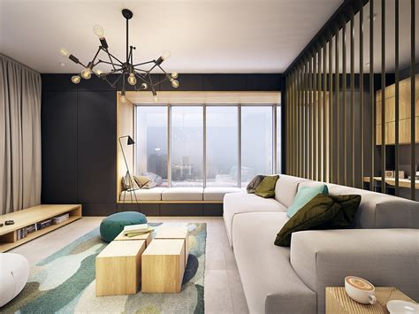 contemporary apartment this contemporary apartment pops with turquoise accents