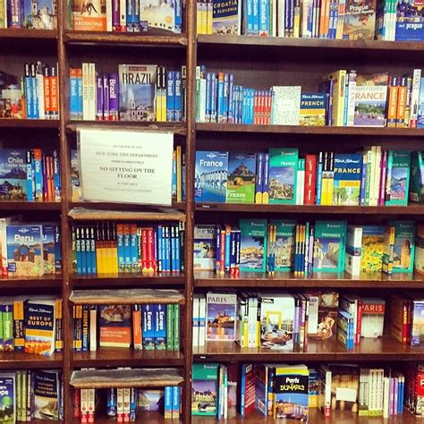 barnes and noble book sections photo of the day travel guide books at union square