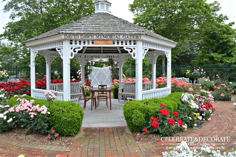 gazebo in garden a garden in southton celebrate decorate