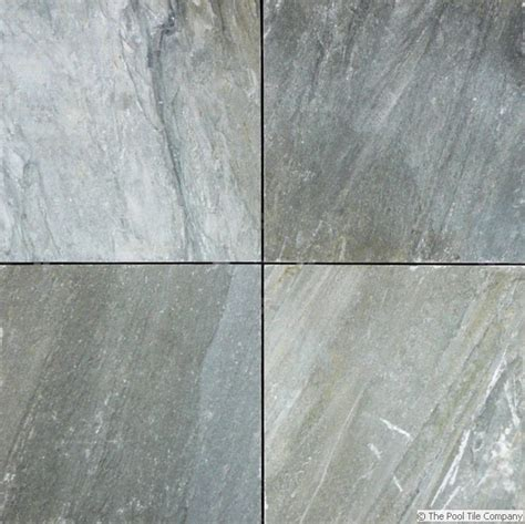 Grey Gum Quartzite Pool Tiles and Pavers