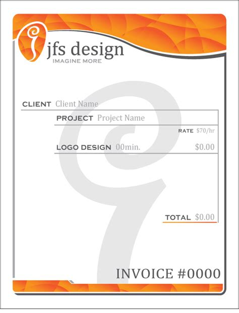 Invoice Letterhead Invoice Design Ideas Studio Design Gallery Best Design