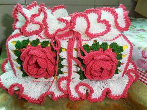 Cover Kotak Tissu diela s crochet crochet cover kotak tisu ros