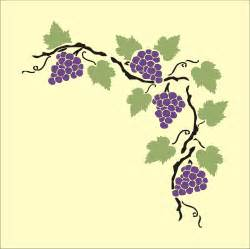 grape vine stencil cliparts co