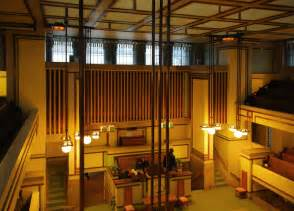 frank lloyd wright interiors panoramio photo of unity temple interior frank lloyd