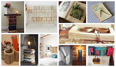 Astonishing DIY Ideas To Reuse Your Old Books In Creative Ways