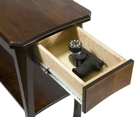 gun end table 19 best images about concealment furniture on
