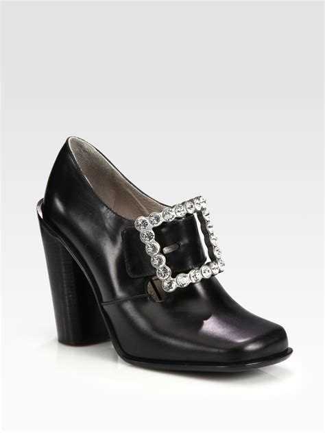 rhinestone boots marc leather rhinestone buckle ankle boots in black
