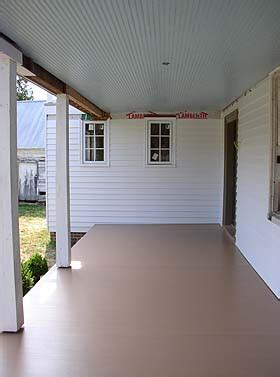 porch paint colors painting the porch what color