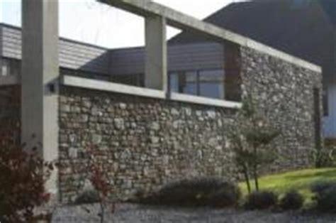 natursteine für innenwände sichtbeton an einem architektenhaus natursteinfassade und