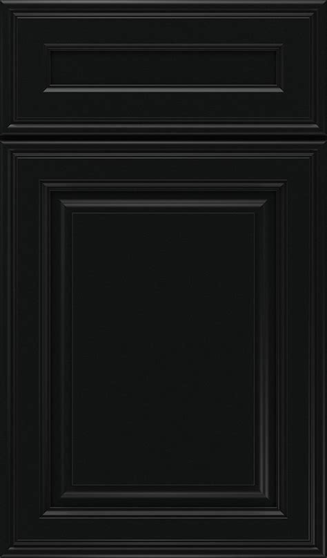 Black Cabinet Doors by Jet Black Cabinet Color On Maple Decora Cabinetry