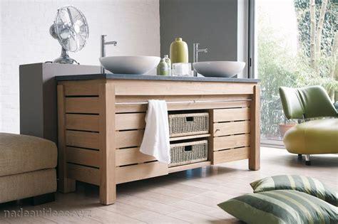 Merveilleux Idee Meuble De Salle De Bain #1: meuble-salle-de-bain-couleur-bois-naturel.jpg