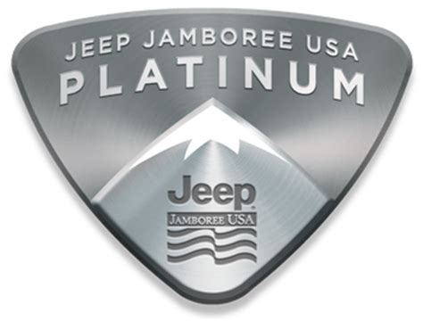 jeep jamboree logo platinum club jeep jamboree usa