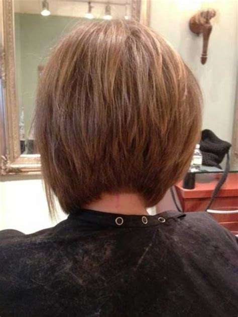back head medium haircuts concave bob haircut back view pictures with regard to your