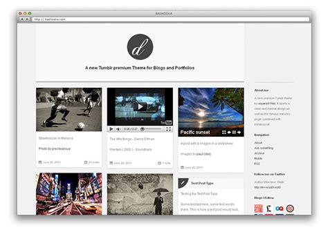 tumblr themes graphic design 30 cool tumblr themes web graphic design bashooka