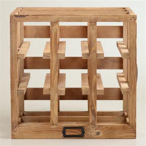 world market wine cabinet wood crate wine rack world market