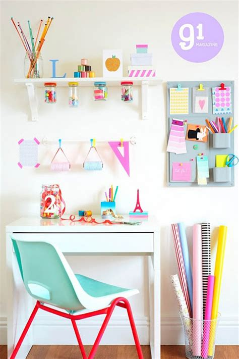 Colorful Desk by Colorful Desk Storage