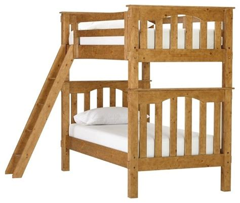 Pottery Barn Kendall Bunk Bed Kendall Bunk Bed Weathered Pine Traditional Bunk Beds By Pottery Barn