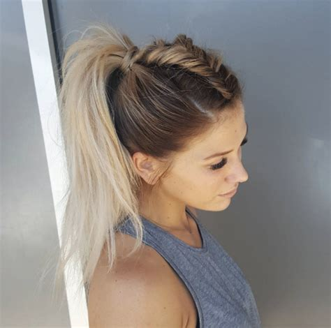 Work Out Hairstyles by 43 Glamorous Workout Hairstyles To Achieve Your Hair