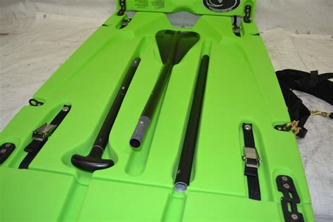 Origami Paddler - origami paddler folding stand up paddleboard lime green