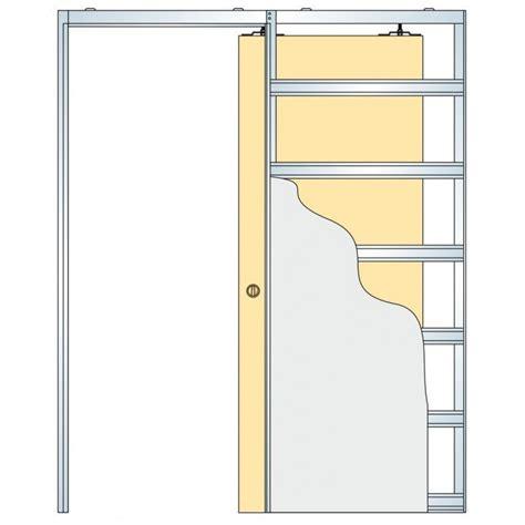 sliding pocket doors eclisse sliding pocket door system single door kit to