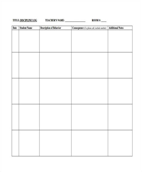 behavior log template behavior log exles twinkl resources gt gt bedtime