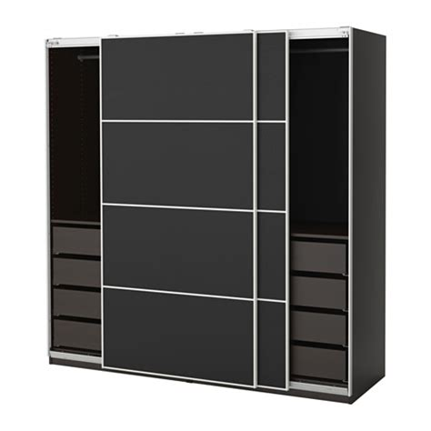 Ikea Hensvik Lemari Pakaian Anak Putih pax lemari pakaian 200x66x201 cm ikea