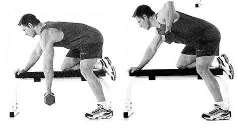 one arm dumbbell row without bench put your back into these exercises men s health singapore
