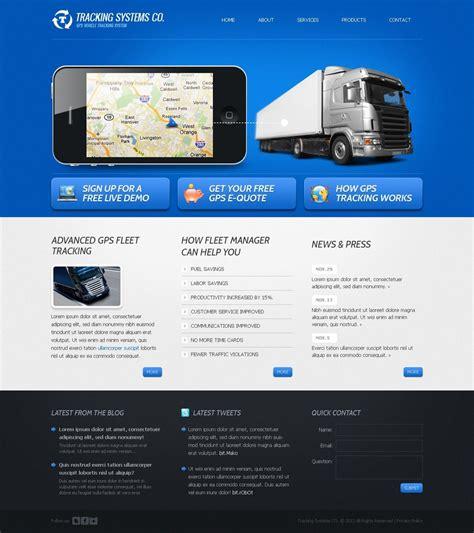 Trucking Website Template 37824 Free Trucking Website Templates