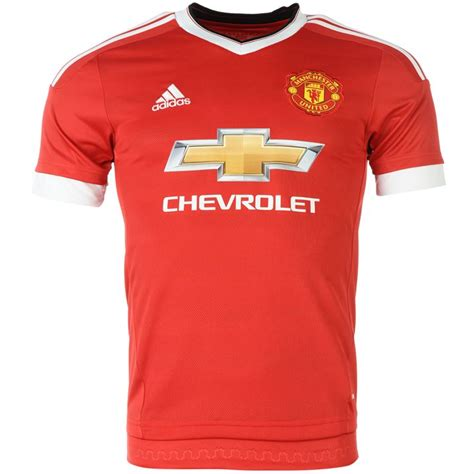 2015 2016 utd adidas home football shirt achat et vente