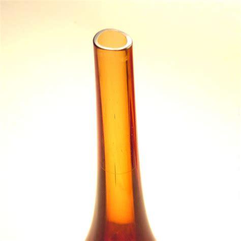 Uranium Vase by Seguso Murano Sommerso Vase Uranium Glass Soliflore 60s