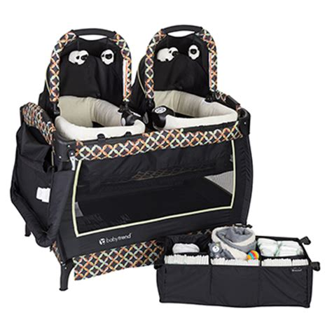 baby double swing for twins babytrend com nursery centers deluxe py66a06f