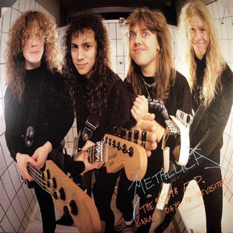metallica 5 98 ep garage days re records lps vinyl and