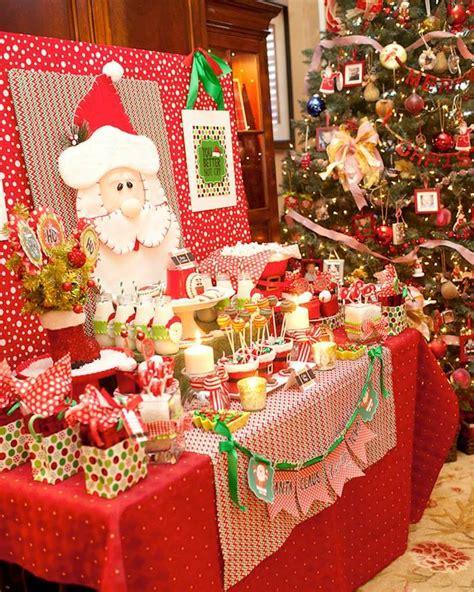 tematicas para decorar en navidad decoraci 243 n de una fiesta de cumplea 241 os para navidad
